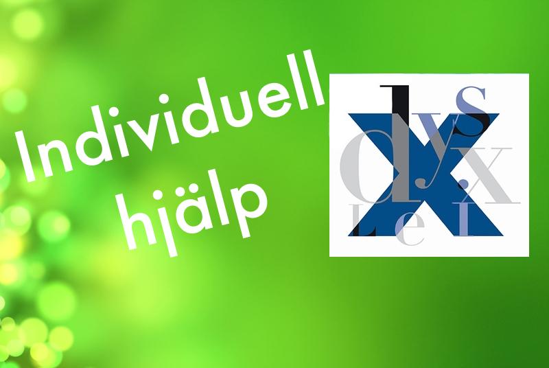 Symbol för individuell hjälp på grön bakgrund