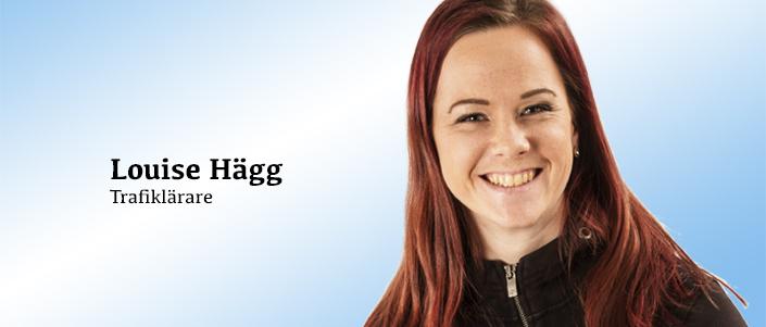 Trafiklärare Louise Hägg