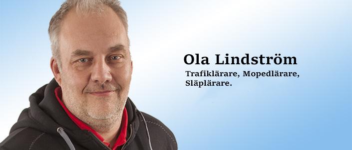 Trafiklärare, mopedlärare och släplärare Ola Lindström