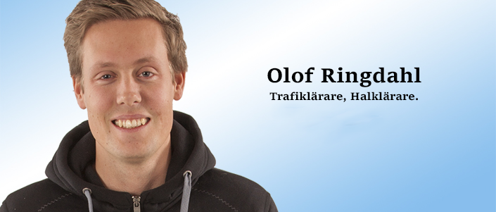 Trafik och halklärare Olof Ringdahl.